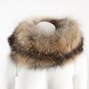 Kieppi round raccoon collar