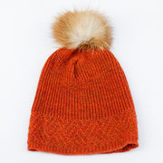 Hiutale wool hat, orange