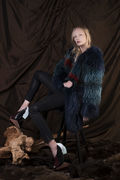 Aurora fur coat