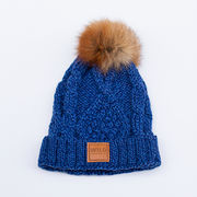 Stella wool hat - Blue