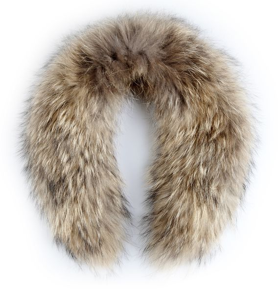 Hanki fur collar - natural