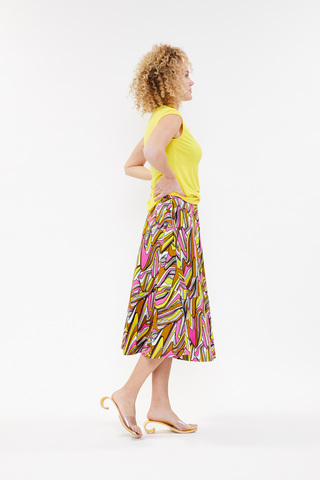 Hay Stretch Pants - Yellow