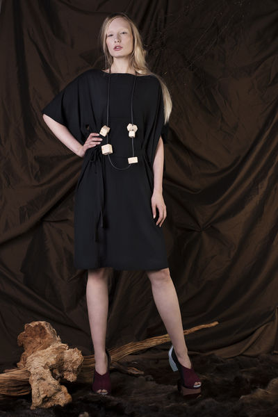 Heli dress - black