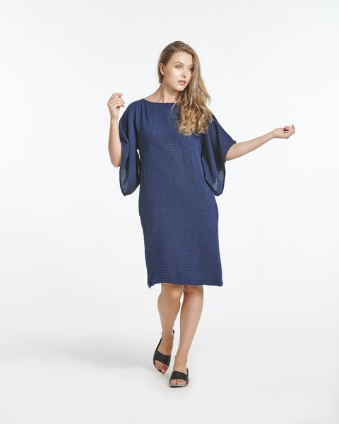 Haze Dress - Mikonos Blue
