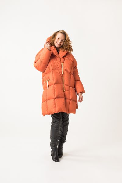 Untamo Down Coat - Copper
